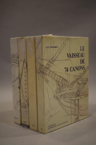 BOUDRIOT Jean, Le vaisseau de 74 canons....