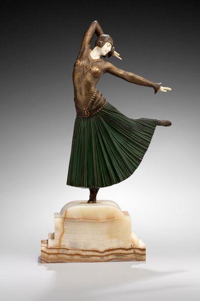 Demeter CHIPARUS (1886-1947)  « Ayouta »....