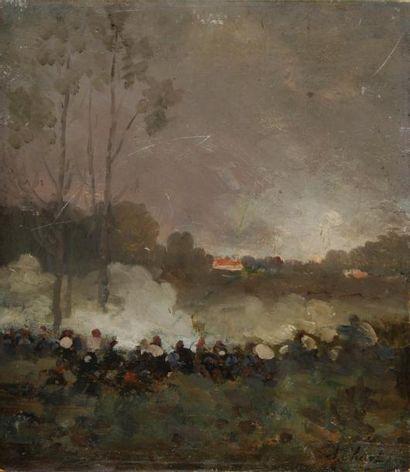 CHIGOT Alphonse Charles 1824-1917