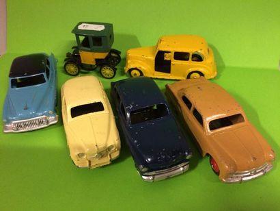 DTF - DTA : 7 voitures dont FORD Vedette...