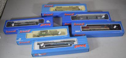 JOUEF : 6 motrices électriques et diesel,...