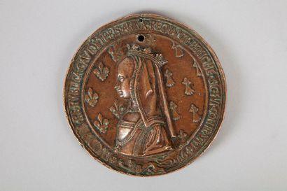Louis XII et Anne de Bretagne (1499)    Médaille...