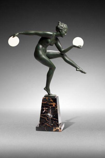 DERENNE & MAX LE VERRIER (éditeur)  « Danseuse...