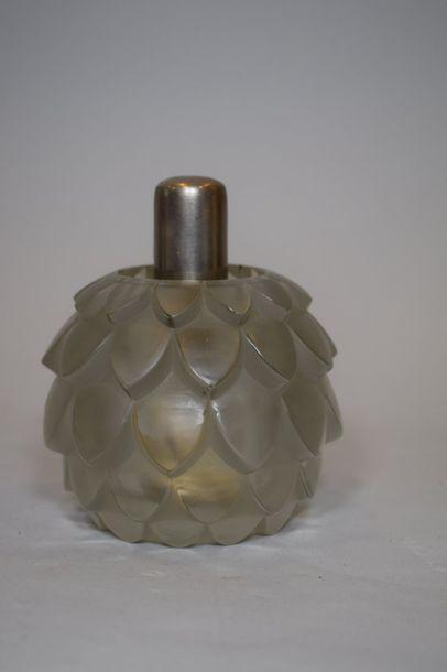 René LALIQUE (1860-1945) & LAMPE BERGER  Brûle-parfum...