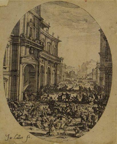 Jacques CALLOT (1592 - 1635)  Le Massacre...