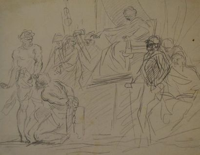 ECOLE ROMAINE Première moitié du XVIIIe siècle...