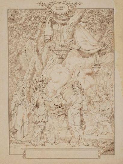 VAN DRECHT Johannes  Amsterdam 1737-...