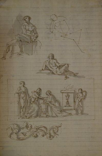 ECOLE FRANCAISE Fin du XVIIIe siècle ...