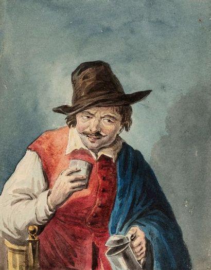 OSTADE Adriaen van (D'après)  1610 - 1685...