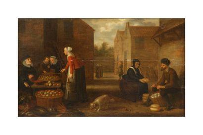 SCHOOTEN Floris Gerritsz van (Attribué à)...