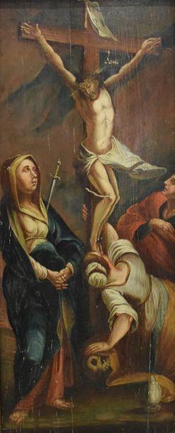 ECOLE FRANCAISE du XVIIe siècle    Le Christ...