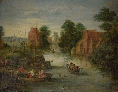 BREUGHEL Jan I (Ecole de)  Anvers 1568 -...