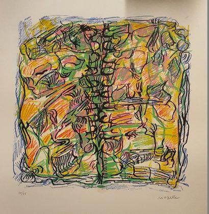 RIOPELLE Jean-Paul, 1923-2002,  Poison Ivy,...