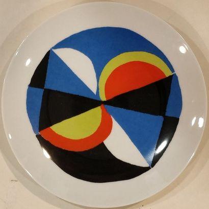 DELAUNAY Sonia (1885-1979)  Windsor  Assiette...