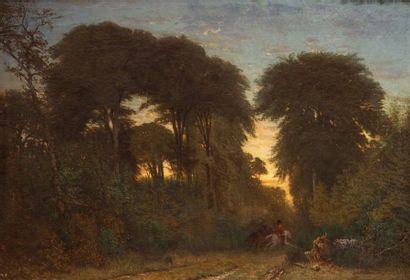 MANNIER Charles, 1823-1855  Chasseurs à cheval...