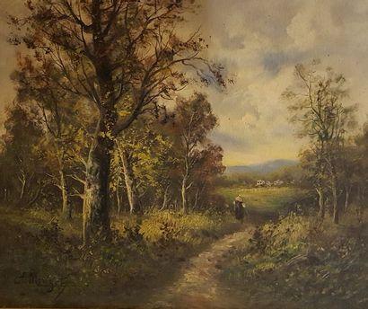 MORISOT-PONTILLON Edma (1839-1921)  La sortie...