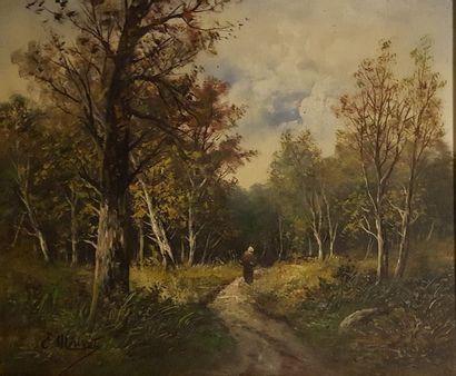 MORISOT-PONTILLON Edma (1839-1921)  L'entrée...