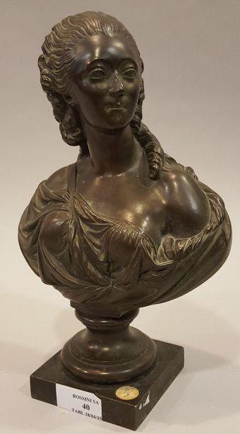 PAJOU Augustin, d'après  Buste de la comtesse...