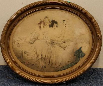 ICART Louis, 1888-1950,  La marionnette,...