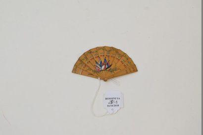 Eventail miniature commémoratifs de la grande...