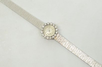 JAEGER LE COULTRE  Montre bracelet de dame...