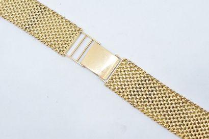 Bracelet de montre en or jaune 18k (750)....
