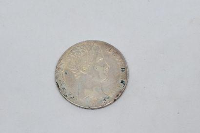 Premier Empire (1804-1814) 5 Francs. An 14....