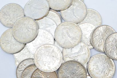 Ensemble de pièces de 5 francs