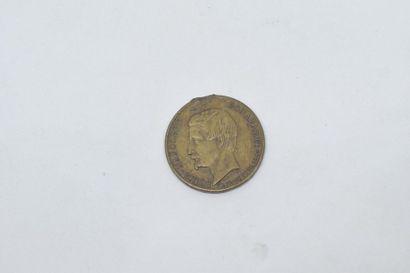 Médaille en cuivre d'ap. F. Caqué  Avers...