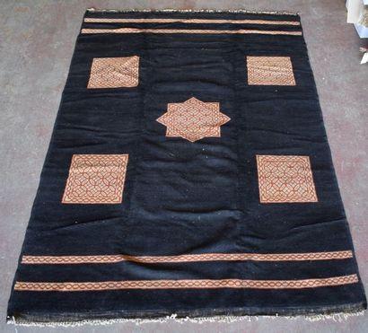 Original tapis Art déco, Maroc, nord Atlas....