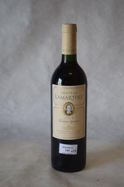 12 bouteilles CH. LAMARTINE, Bordeaux...