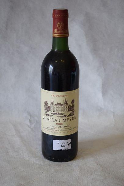 10 bouteilles CH. MEYRE, Haut-Médoc 1988...