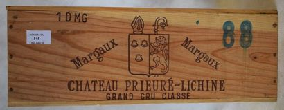 1 double-magnum CH. PRIEURE-LICHINE, 4°...