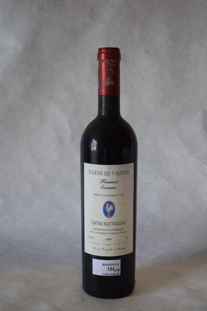 12 bouteilles CH. HAUT RIGALEAU, Bordeaux...