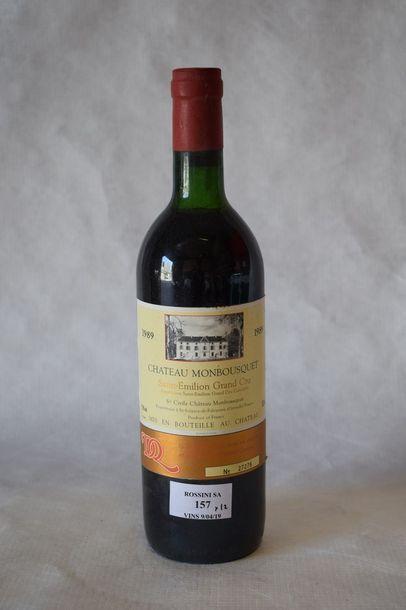 12 bouteilles CH. MONBOUSQUET, Grand Cru...