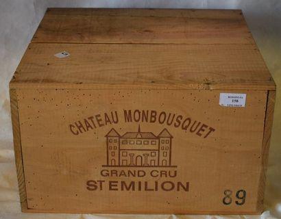 6 magnums CH. MONBSQUET, Grnd Cru St-Emilion...