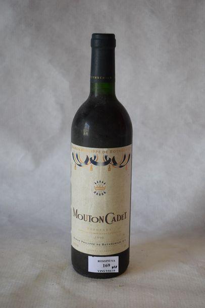 12 bouteilles MOUTON-CADET, Bordeaux...