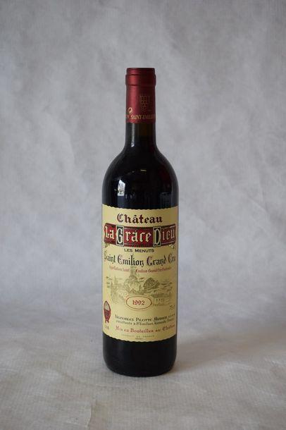 12 bouteilles CH. LA GRÂCE DIEU