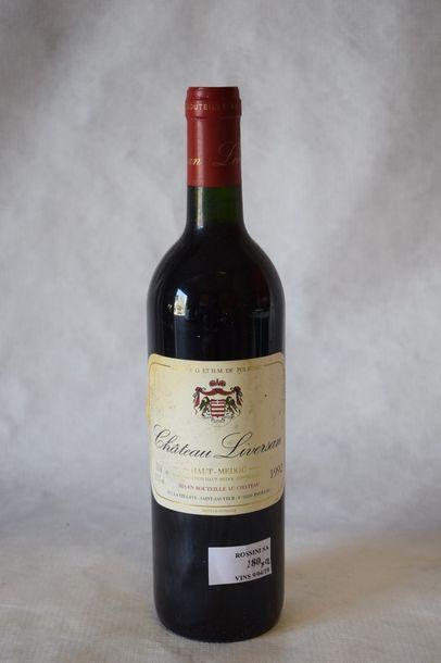 12 bouteilles CH. LIVERSAN, Haut-Médoc...