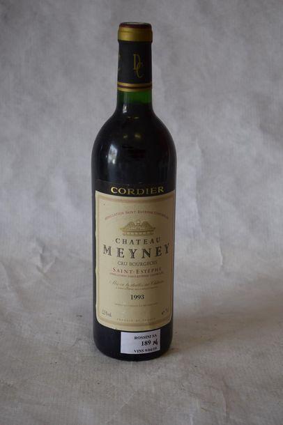 4 bouteilles CH. MEYNEY, Saint-Estèphe...