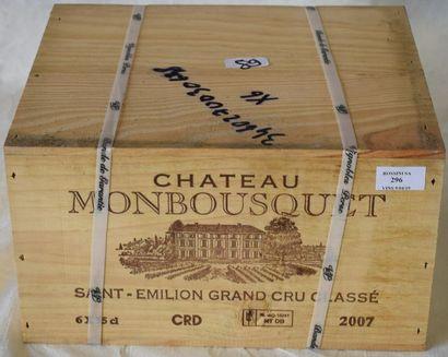 6 bouteilles CH. MONBOUSQUET, Grand Cru...