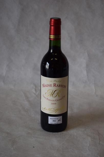 6 bouteilles MAINE RABYON, St-Emilion...
