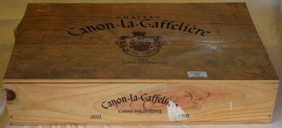 6 bouteilles CH. CANON-LA-GAFFELIÈRE,...