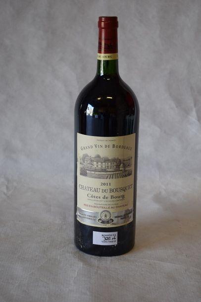 6 magnums CH. DU BOUSQUET, Côtes de Bourg...