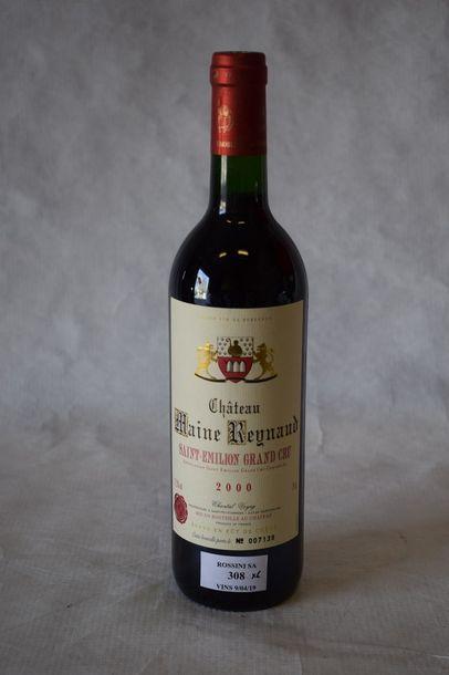 6 bouteilles BORDEAUX DIVERS