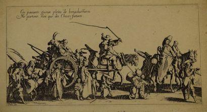 Jacques CALLOT (1592 - 1635)  Les Bohémiens...