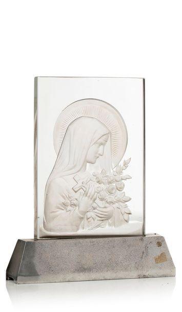 VERLYS  « Sainte Thérèse à la gerbe de roses...