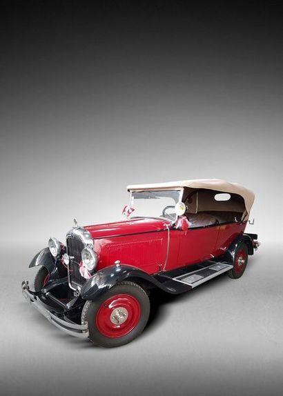 C6 Torpédo 1928 La C6 présentée au Salon...