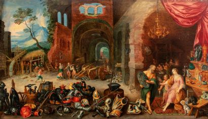 Atelier de FRANCKEN Frans II dit le jeune...