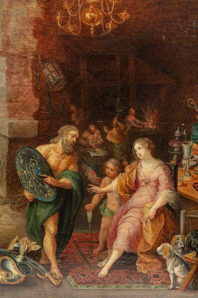 Atelier de FRANCKEN Frans II dit le jeune et Atelier de Jan BREUGHEL I ou Jan BREUGHEL...